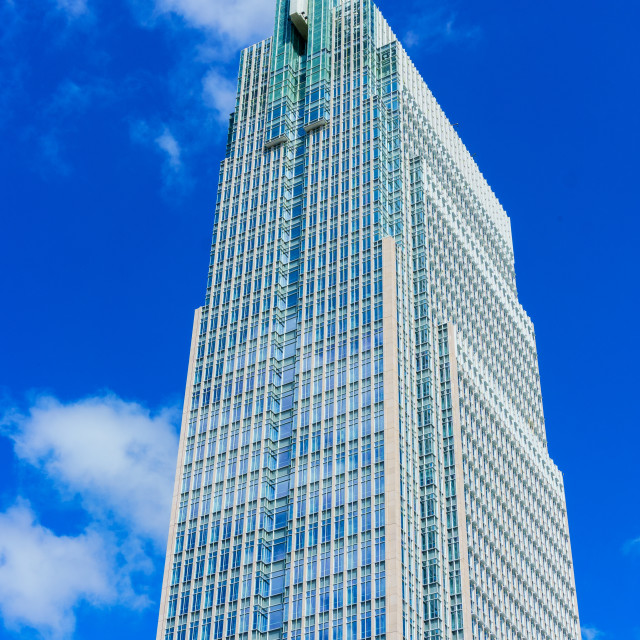 """High office tower"" stock image"