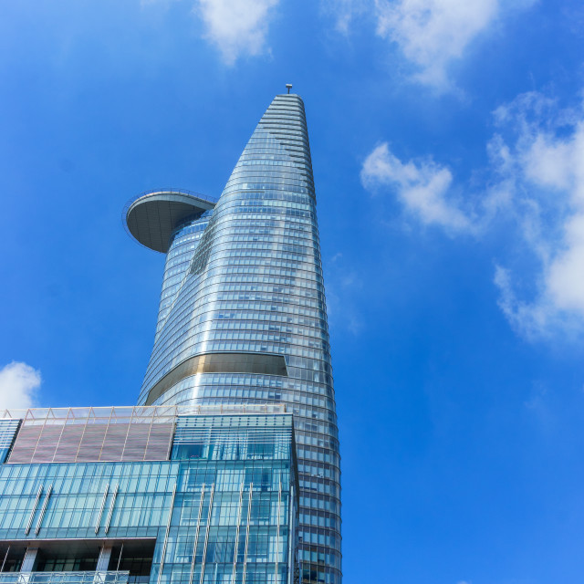 """Bitexco tower"" stock image"