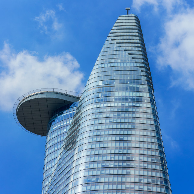 """The Bitexco tower"" stock image"