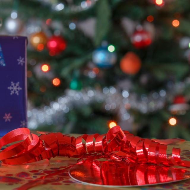 """""""Christmas Present"""" stock image"""
