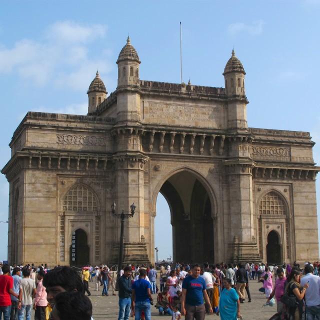 """""""Gateway to India, Mumbai"""" stock image"""
