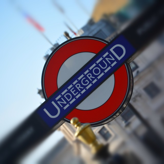 """london underground sign"" stock image"