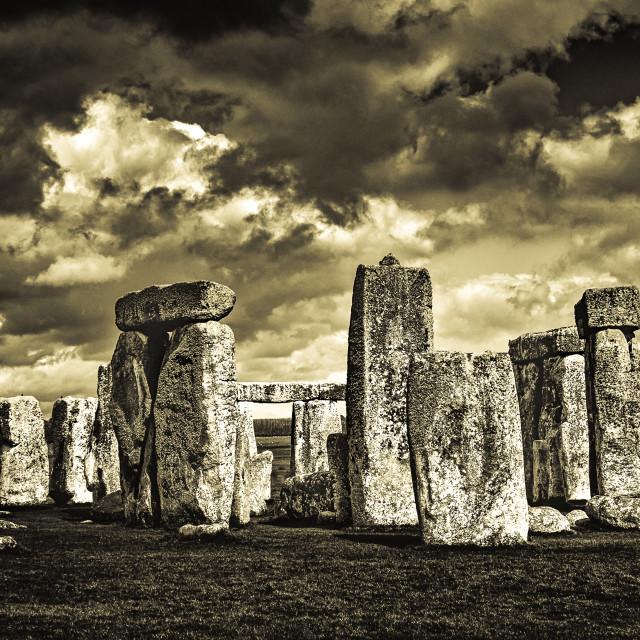 """""""Stone Henge"""" stock image"""