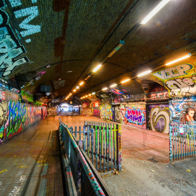 """Waterloo Graffiti"" stock image"