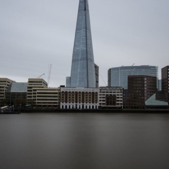 """London Bridge Hospital & The Shard"" stock image"