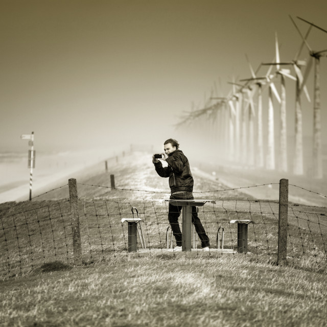 """""""Catch the Wind"""" stock image"""