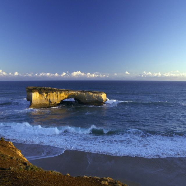 """London Bridge Great Ocean Road Australia"" stock image"