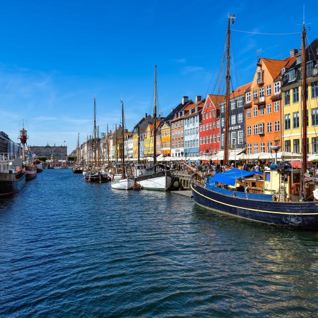 """""""Nyhavn Canal Copenhagen"""" stock image"""
