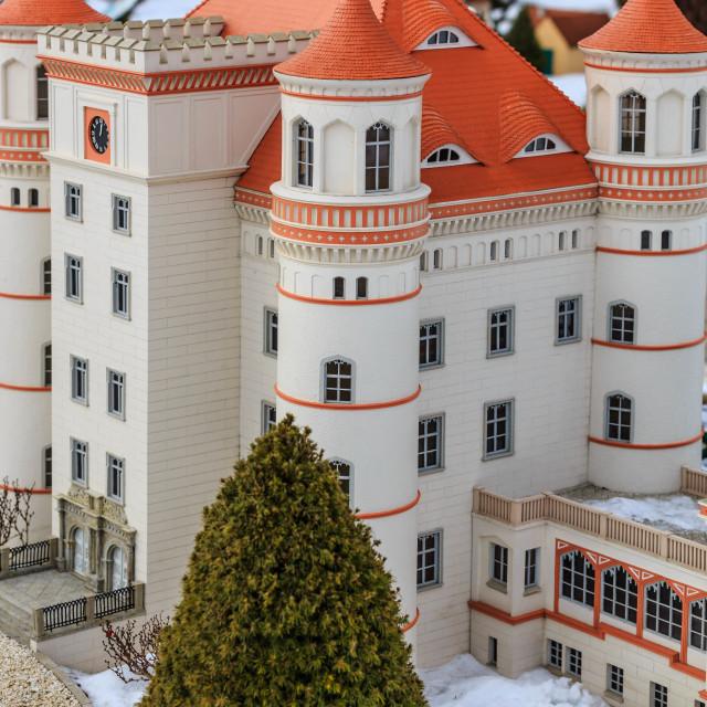 """Silesia palace"" stock image"