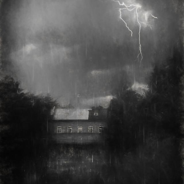 """""""Nightstorm"""" stock image"""