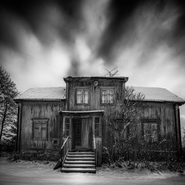 """House where nobody lives"" stock image"
