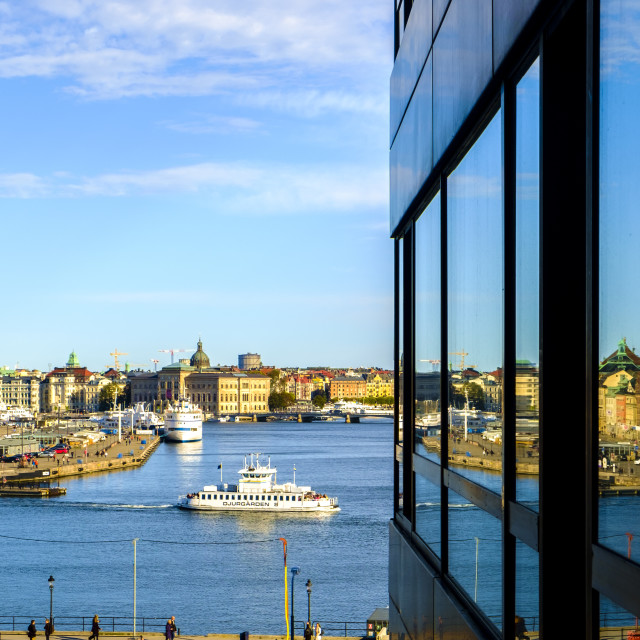 """Gamla Stan district"" stock image"