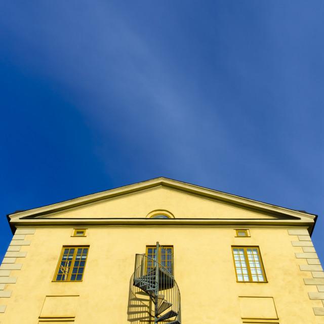 """building detail in Stockholm"" stock image"
