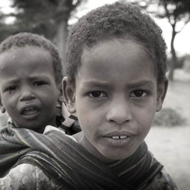 """Ethiopian Children"" stock image"