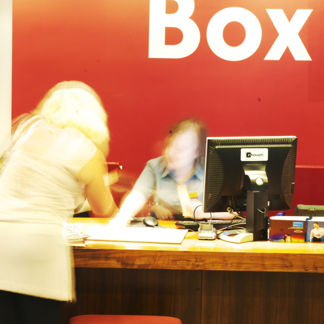 """Theatre Box Office"" stock image"