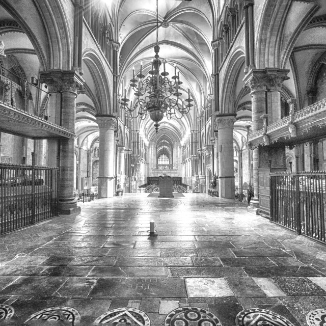 """Medieval Cathedrale"" stock image"