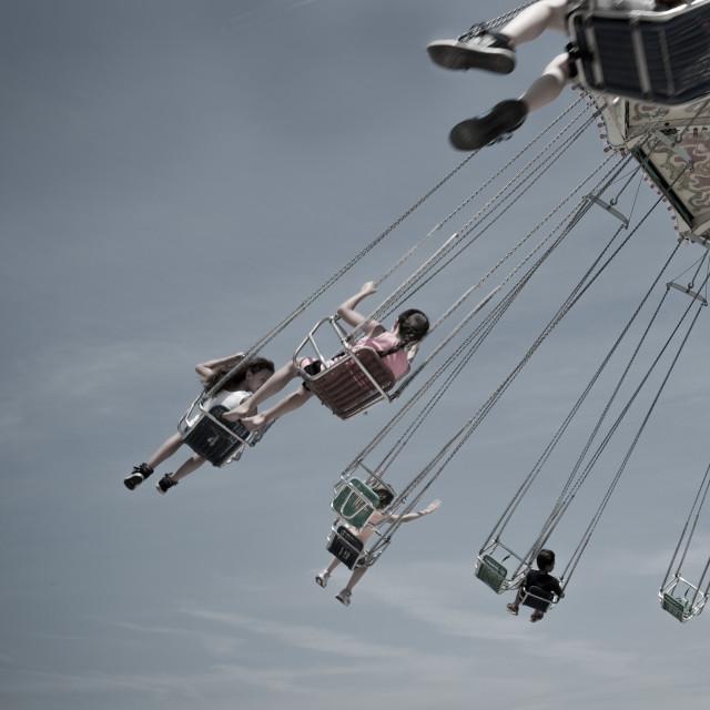 """amusement park ride"" stock image"