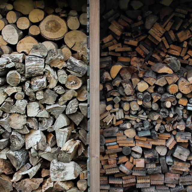"""wood pile"" stock image"