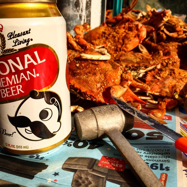 """""""Crabs and Boh"""" stock image"""