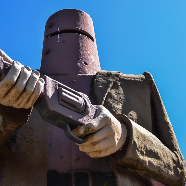 """Ned Kelly"" stock image"