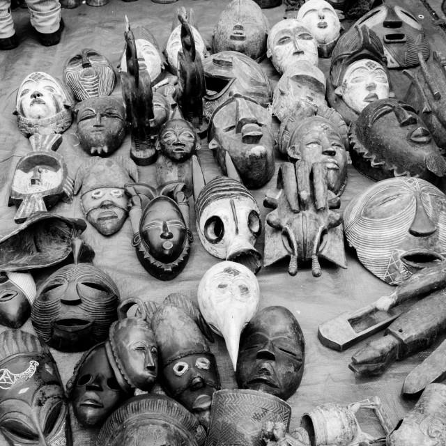"""""""masks"""" stock image"""