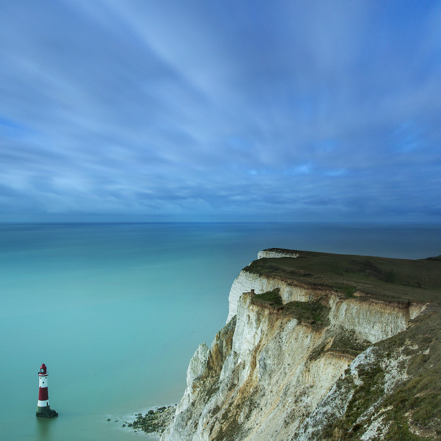 """Beachy Head Sussex"" stock image"