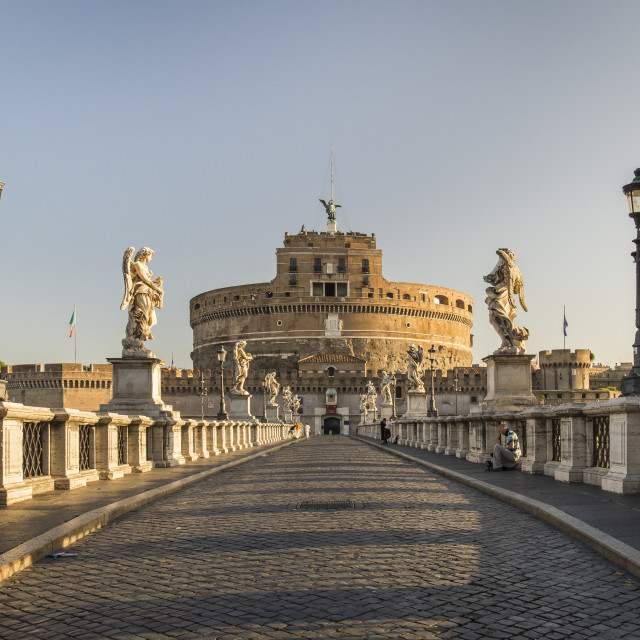 """Castle of Sant Angelo"" stock image"
