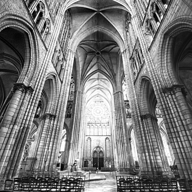 """Troyes Cathedral I"" stock image"