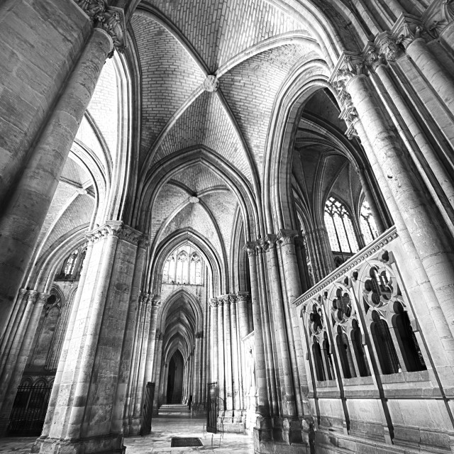 """Troyes Cathedral II"" stock image"