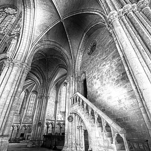 """Troyes Cathedral III"" stock image"