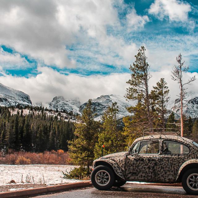 """Rocky Mountains"" stock image"