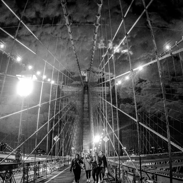 """Brooklyn Bridge"" stock image"