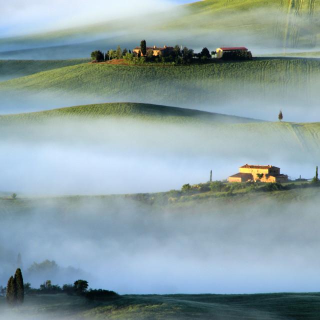"""""""Tuscany, Italy"""" stock image"""