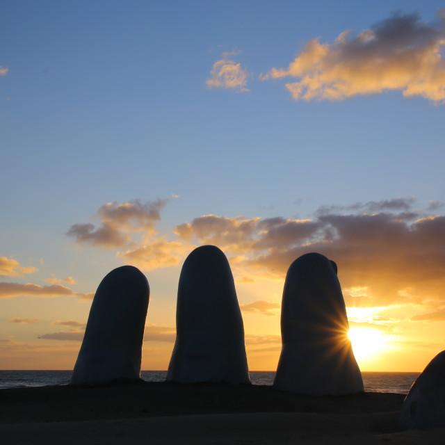 """""""Punta del Este, Uruguay"""" stock image"""