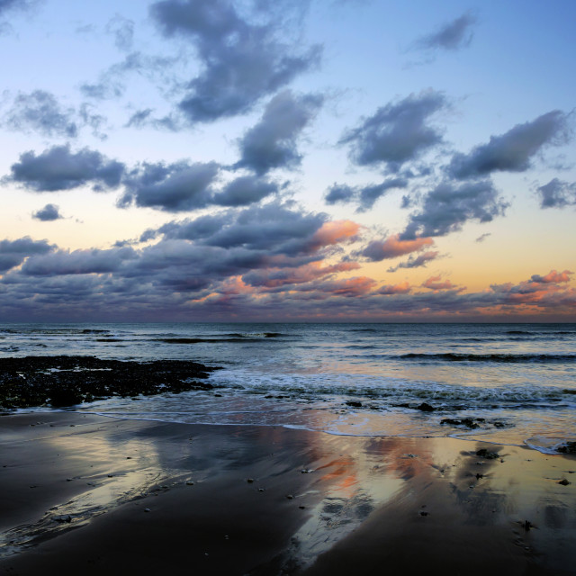 """Coastal view."" stock image"