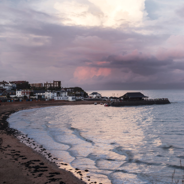 """""""The Heart of Broadstairs."""" stock image"""