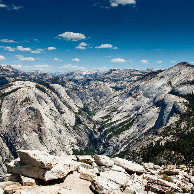 """Yosemite vista"" stock image"
