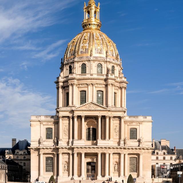"""""""Invalides in Paris"""" stock image"""