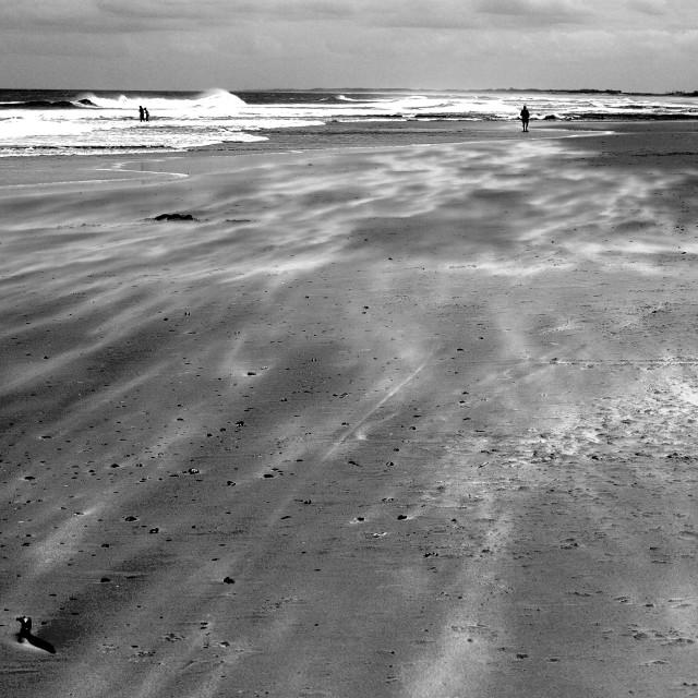 """Beach, La Paloma, Uruguay, 2015"" stock image"