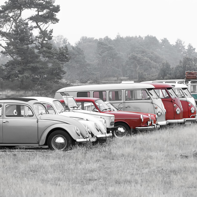"""Volkswagen Family"" stock image"