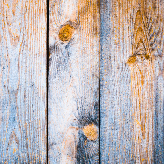 """Blue orange toned boards texture"" stock image"