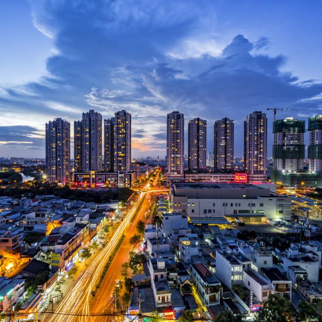 """""""Hồ Chí Minh City"""" stock image"""