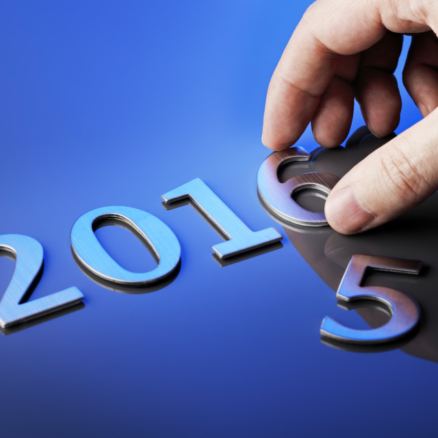 """Welcome 2016"" stock image"