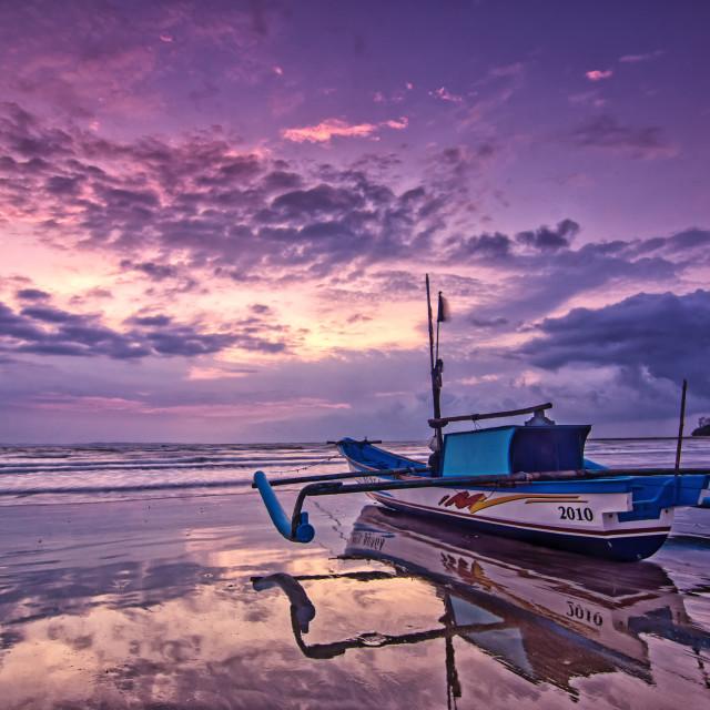 """""""Ujung Genteng Beach"""" stock image"""