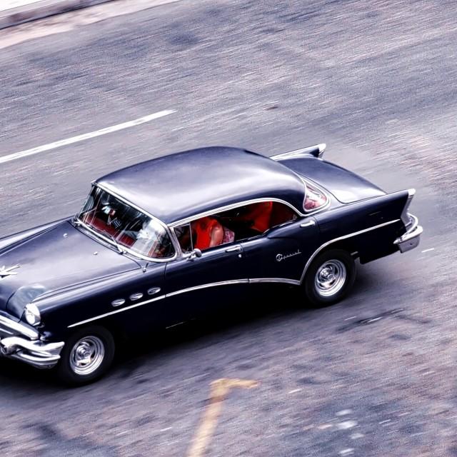 """Classic car in Havana, Cuba"" stock image"