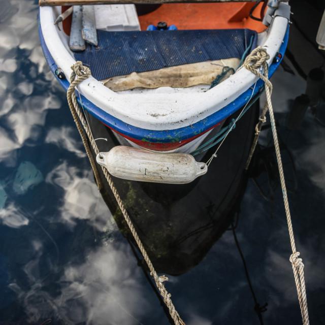 """""""Boat in the sky"""" stock image"""
