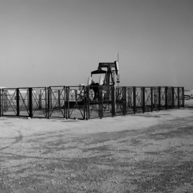"""""""Oil well"""" stock image"""
