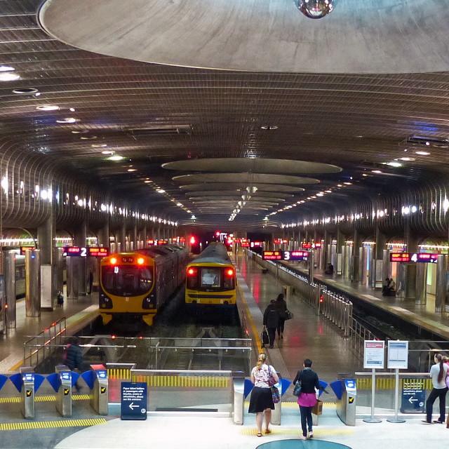 """Rail Transit Hub"" stock image"