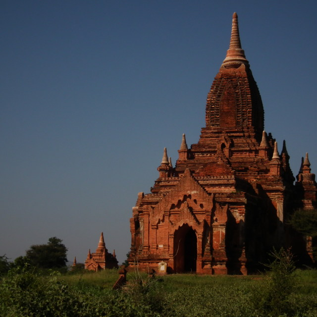 """Ananda Temple at Bagan"" stock image"