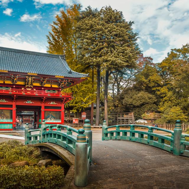 """Nezu Shrine"" stock image"